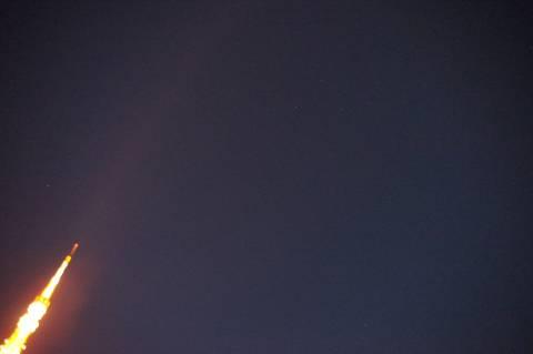カシオペア座と東京タワー