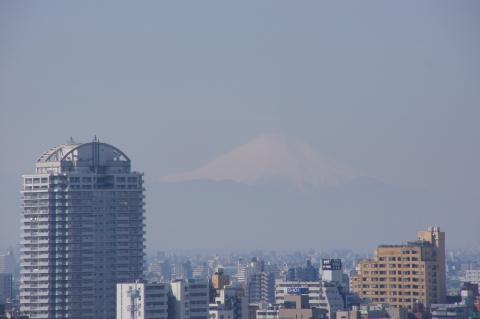 北とぴあから富士山