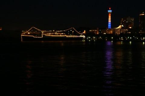 マリンタワー夜景