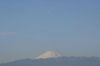 10:13 下弦の月が富士山の真上に、キター!!
