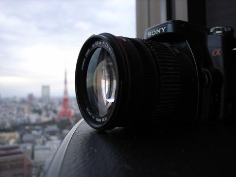 α100と東京タワー