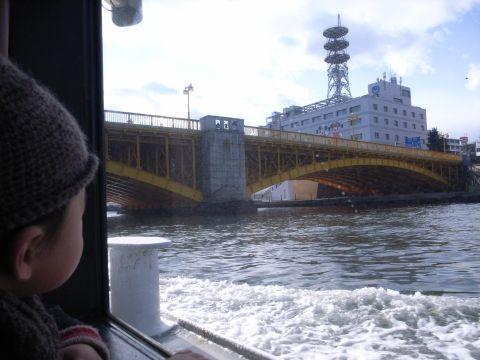 黄色い蔵前橋にも興奮