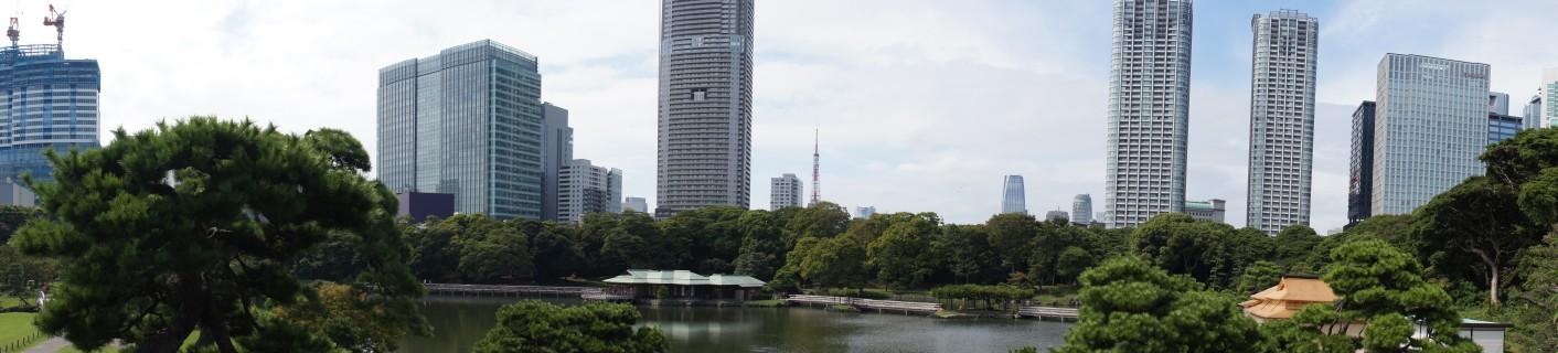 東京タワー方向