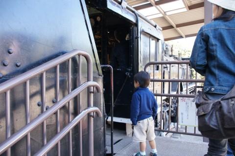 機関車と悠真