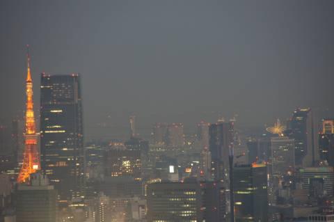 東京タワー・夜景