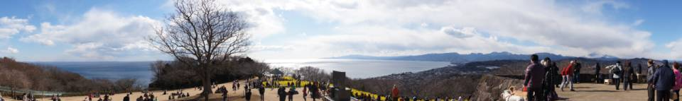 吾妻山公園展望台