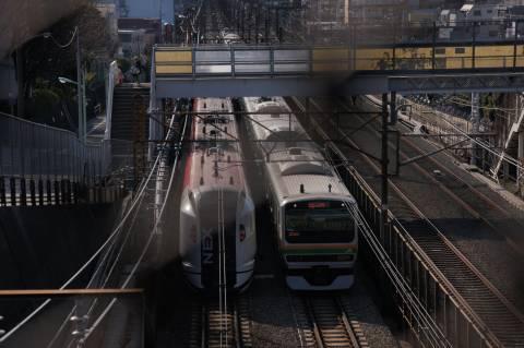 成田エクスプレスと横須賀線