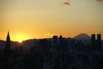 沈む太陽も富士山もありがとう
