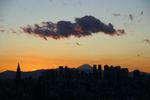 富士山を彩る夕焼けも夕焼け雲もありがとう