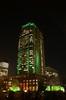 ライトアップ中の丸ビル全景