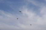 どこまでも舞い上がれそうな凧達