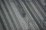 スーパービュー踊り子号も雪の中を疾走