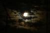 叢雲と十五夜と木星と