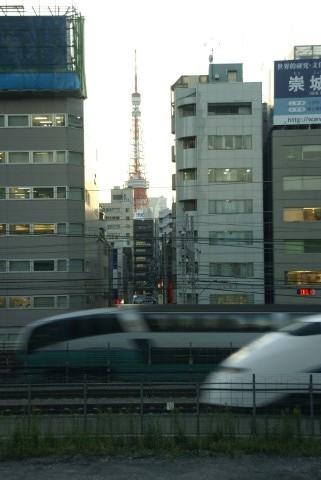東京タワーと新幹線・踊り子