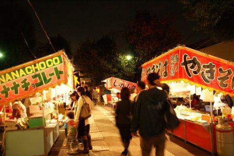 須賀神社縁日