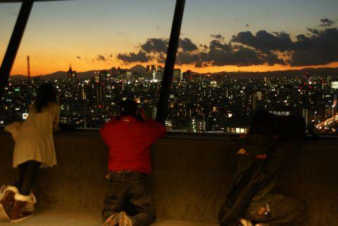 富士山を撮る人々