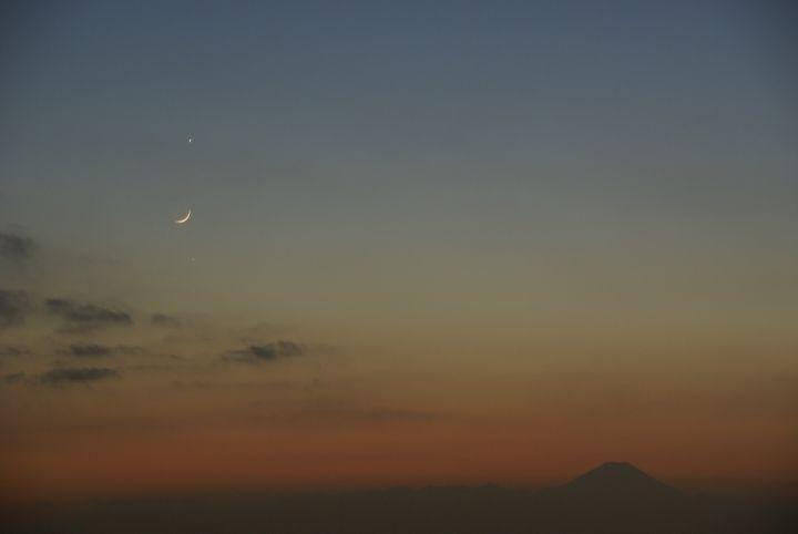 富士山を囲んで