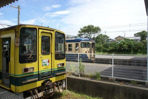 いすみ鉄道と外房線