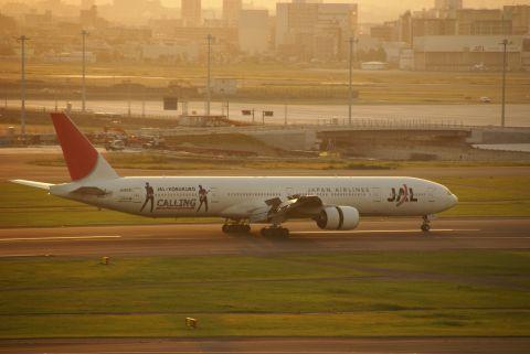 JAL×コブクロ・ジェット