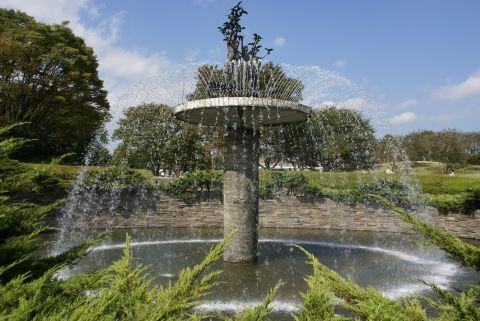昭和記念公園・噴水