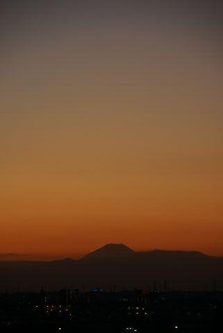 富士山撮り納め