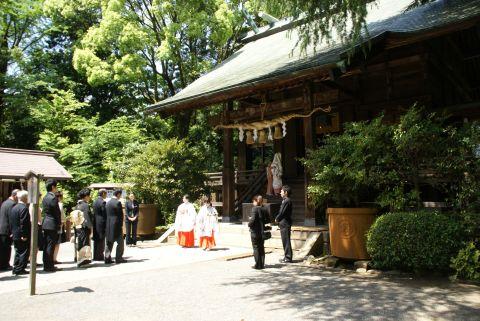 報徳二宮神社の婚礼