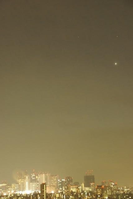 火星・土星・金星