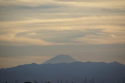 富士さんと逆さ富士