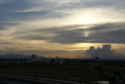 多摩川浅間神社からの眺め