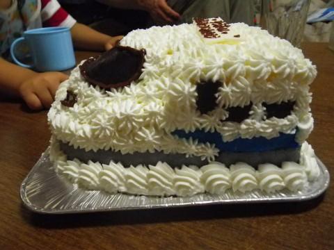 N700系新幹線ケーキ