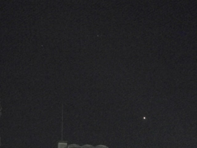 金星・土星・火星の接近
