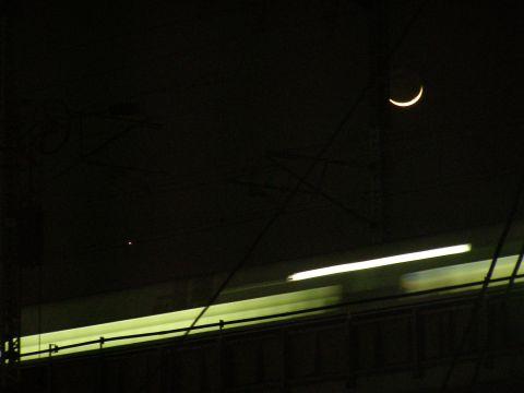 月と木星と新幹線