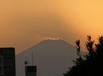 富士山の周りに静寂が訪れました