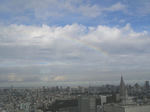 虹ですよ、虹!