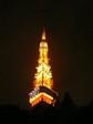2007を表示する東京タワー。