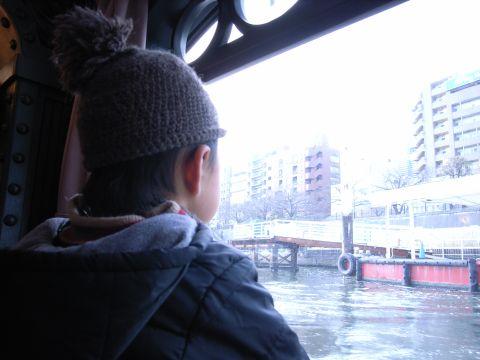 水上バス・出航