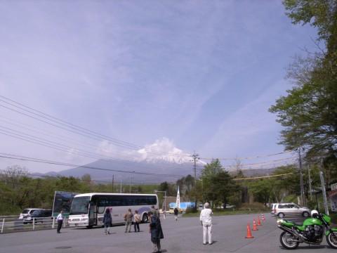 須走浅間神社からの富士山