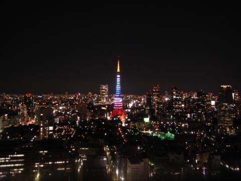 東京タワー・ライトアップショー