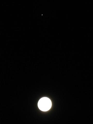 十五夜と木星
