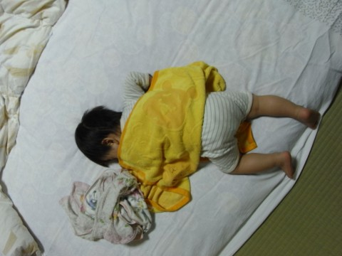 悠真の寝姿2