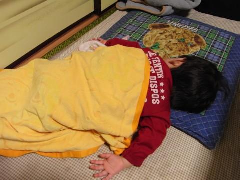 悠真の寝姿3