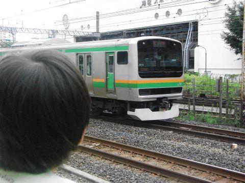 悠真と東海道線